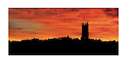 POSTCARD FRIBOURG CATHEDRALE ST. NICOLAS Format A 5 / Fr. 3.- The gothic cathedral of st nicolas in Fribourg Switzerland