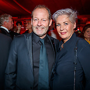 NLD/Amsterdam/20181121 - Premiere Palazzo 2018, Danny Blind en partner Yvonne