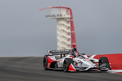 March 23, 2019 - Austin, Texas, U.S - Andretti Herta Autosport with Curb-Agajanian driver Marco Andretti (98) of United States in action during the practice round at the Circuit of the Americas racetrack in Austin,Texas. (Credit Image: © Dan Wozniak/ZUMA Wire)
