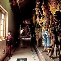 Hindu temple.<br /> Matale, Sri Lanka.