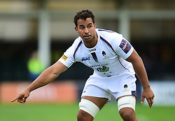 Marco Mama of Worcester Warriors - Mandatory by-line: Alex James/JMP - 28/09/2019 - RUGBY - Recreation Ground - Bath, England - Bath Rugby v Worcester Warriors - Premiership Rugby Cup