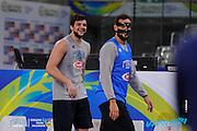 DESCRIZIONE: Torino FIBA Olympic Qualifying Tournament Allenamento<br /> GIOCATORE: Alessandro Gentile Marco Stefano Belinelli<br /> CATEGORIA: Nazionale Maschile Senior Allenamento<br /> GARA: FIBA Olympic Qualifying Tournament Allenamento<br /> DATA: 05/07/2016<br /> AUTORE: Agenzia Ciamillo-Castoria
