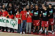 DESCRIZIONE : Roma Eurolega 2010-11 Lottomatica Virtus Roma Spirou Chaleroi<br /> GIOCATORE : Special Olympics<br /> SQUADRA : Lottomatica Virtus Roma <br /> EVENTO : Eurolega 2010-2011<br /> GARA : Lottomatica Virtus Roma Spirou Chaleroi<br /> DATA : 02/12/2010<br /> CATEGORIA : Special Olympics, Curiosita'<br /> SPORT : Pallacanestro <br /> AUTORE : Agenzia Ciamillo-Castoria/GiulioCiamillo<br /> Galleria : Eurolega 2010-2011<br /> Fotonotizia : Roma Eurolega Euroleague 2010-11 Lottomatica Virtus Roma Spirou Chaleroi<br /> Predefinita :