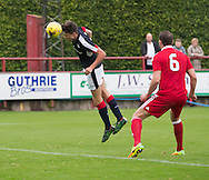 Mark Smith heads home to pull Dundee back into the game - Aberdeen v Dundee, SPFL Under 20s League at Glebe Park, Brechin<br /> <br />  - &copy; David Young - www.davidyoungphoto.co.uk - email: davidyoungphoto@gmail.com