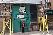 Stik, Shoreditch. London. 27 October 2015