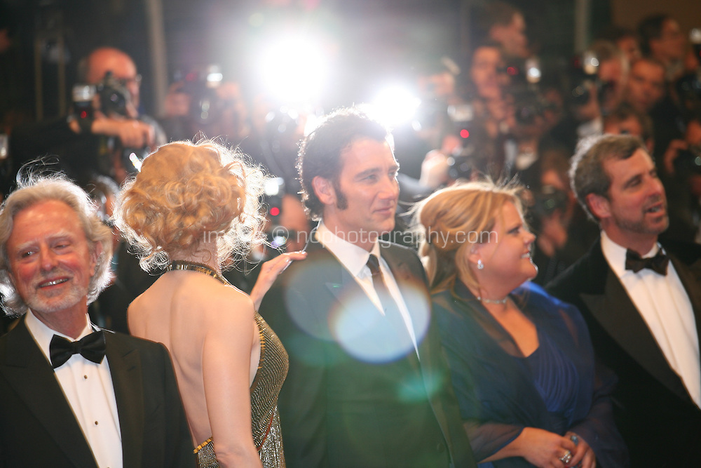 Director Philip Kaufman, Actress Nicole Kidman and actor Clive Owen,  Heminway & Gellhorn gala screening at the 65th Cannes Film Festival France. Friday 25th May 2012 in Cannes Film Festival, France.
