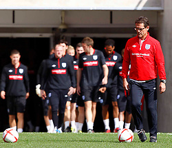 02.09.2010, Wembley Stadion, London, ENG, Training Nationalmannschaft England, im Bild England players coming out for Training, EXPA Pictures © 2010, PhotoCredit: EXPA/ IPS *** ATTENTION *** UK AND FRANCE OUT! / SPORTIDA PHOTO AGENCY