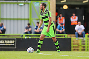 Forest Green Rovers Darren Carter during the Pre-Season Friendly match between Forest Green Rovers and Birmingham City at the New Lawn, Forest Green, United Kingdom on 16 July 2016. Photo by Shane Healey.