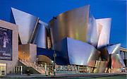 Walt Disney Concert Hall at Night