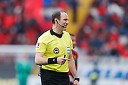 OSTERSUND, SWEDEN - APRIL 21: Jonas Eriksson, referee during the Allsvenskan match between Ostersunds FK and Orebro SK at Jamtkraft Arena on April 21, 2018 in Ostersund, Sweden. Photo by Nils Petter Nilsson/Ombrello ***BETALBILD***