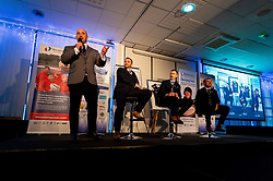 David Flatman joins Mark Stevens, Nic White and Jack Nowell at the annual Exeter Chiefs Foundation Christmas Dinner at Sandy Park - Ryan Hiscott/JMP - 07/12/2018 - RUGBY - Sandy Park - Exeter, England - Exeter Chiefs Foundation Christmas Dinner with David Flatman