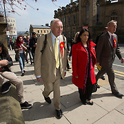 Former Labour MP and Mayor of London Ken Livingstone in Bradford to support Bradford West candidate Naz Shah.