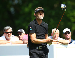 May 25, 2017 - Virginia Water, United Kingdom - Raphael Jacquelin of France during 1st Round for the 2017 BMW PGA Championship on the west Course at Wentworth on May 25, 2017 in Virginia Water,England  (Credit Image: © Kieran Galvin/NurPhoto via ZUMA Press)