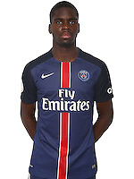 Edouard Odsonne of PSG during PSG photo call for the 2016-2017 Ligue 1 season on September, 7 2016 in Paris, France<br /> Photo : C.Gavelle/ PSG / Icon Sport