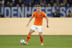 Matthijs de Ligt of Holland during the UEFA Nations League A group 1 qualifying match between Germany and The Netherlands at the Veltins Arena on November 19, 2018 in Gelsenkirchen, Germany