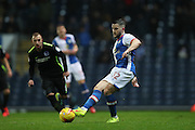 Blackburn Rovers midfielder, Craig Conway (32) during the EFL Sky Bet Championship match between Blackburn Rovers and Brighton and Hove Albion at Ewood Park, Blackburn, England on 13 December 2016.