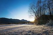 Cold December day nearby Snipsøyrvatnet, Norway | Kald desemberdag i nærheten av Snipsøyrvatnet, Hareid, Norge.