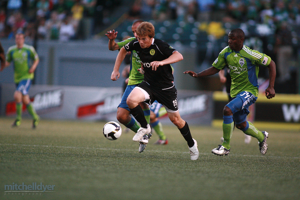 Portland Timbers vs. Seattle Sounders US Open Cup Round 3 on July 1, 2009, PGE Park, Portland, OR ...Photography by Craig Mitchelldyer.www.craigmitchelldyer.com.503.513.0550