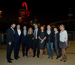 Members of the Bob Woodruff Foundation  - Photo mandatory by-line: Joe Meredith/JMP - Mobile: 07966 386802 - 11/09/14 - The Invictus Opening Ceremony - London - Queen Elizabeth Olympic Park