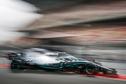 February 20, 2019 - Barcelona, Spain - BOTTAS Valtteri (fin), Mercedes AMG F1 GP W10 Hybrid EQ Power+, action during Formula 1 winter tests from February 18 to 21, 2019 at Barcelona, Spain - Photo  /  Motorsports: FIA Formula One World Championship 2019, Test in Barcelona, (Credit Image: © Hoch Zwei via ZUMA Wire)