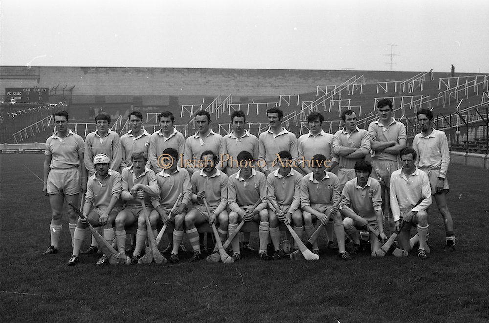 13/09/1970<br /> 09/13/1970<br /> 13 September 1970<br /> All-Ireland Intermediate Semi-Final: Dublin v Antrim at Croke Park, Dublin.<br /> The Dublin team.