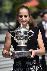 Jelena Ostapenko - 11 June 2017