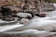 Avalanche Creek, Glacier National Park, Montana, USA