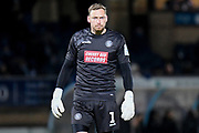 Wycombe Wanderers goalkeeper Ryan Allsop (1) during the The FA Cup match between Wycombe Wanderers and Tranmere Rovers at Adams Park, High Wycombe, England on 20 November 2019.