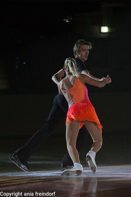 International Ice Skating Gala, Courchevel, France, 20 July 2017, Shari Koch, Christian Nuchtern, Members of National Team, Germany, 3rd Championship of Germany,
