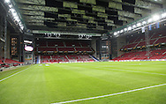 FOOTBALL: A generel view of the stadium with a giant roof prior to the UEFA Europa League round of 32, second leg, match between FC København and PFC Ludogorets Razgrad at Parken Stadium, Copenhagen, Denmark on February 23, 2017. Photo: Claus Birch