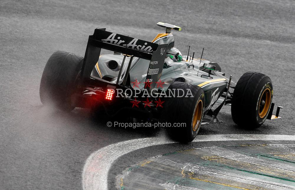 Motorsports / Formula 1: World Championship 2010, GP of Brazil, 19 Heikki Kovalainen (FIN, Lotus F1 Racing),