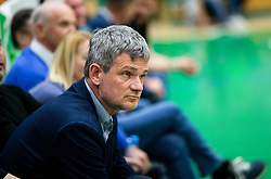 Tomaz Berlocnik during basketball match between KK Krka and KK Petrol Olimpija in 22nd Round of ABA League 2018/19, on March 17, 2019, in Arena Leon Stukelj, Novo mesto, Slovenia. Photo by Vid Ponikvar / Sportida