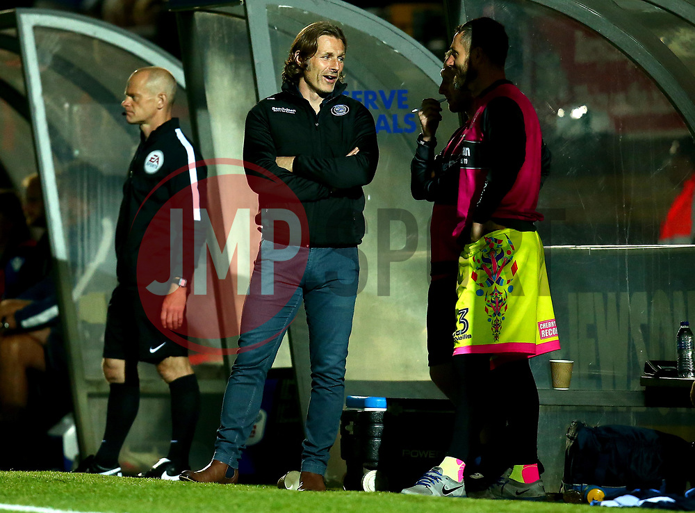 Wycombe Wanderers manager Gareth Ainsworth - Mandatory by-line: Robbie Stephenson/JMP - 29/08/2017 - FOOTBALL - Adam's Park - High Wycombe, England - Wycombe Wanderers v Bristol Rovers - Checkatrade Trophy