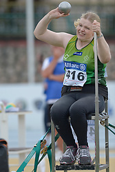 Deirdre Mongan (originally from Milltown, Co. Galway now living in Newcastle, Co. Down), F53 class, Paralympics Ireland Athletics pictured competing at the 2016 IPC Athletic European Championships in Grosseto, Italy