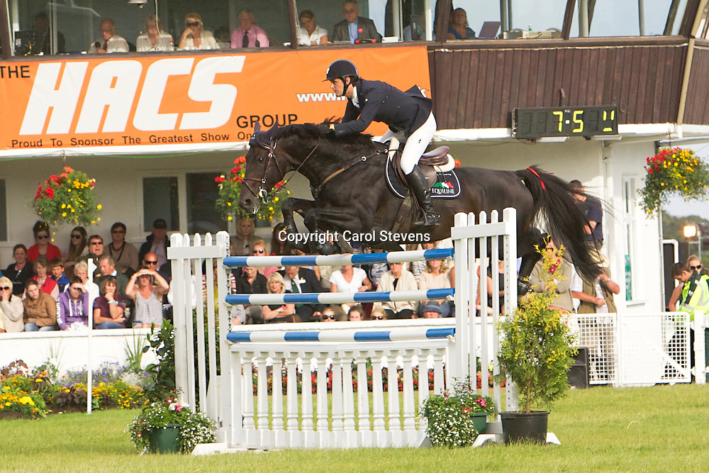 Billy Twomey and Royale Du Rouet<br /> Winners of The William Hanson Stake