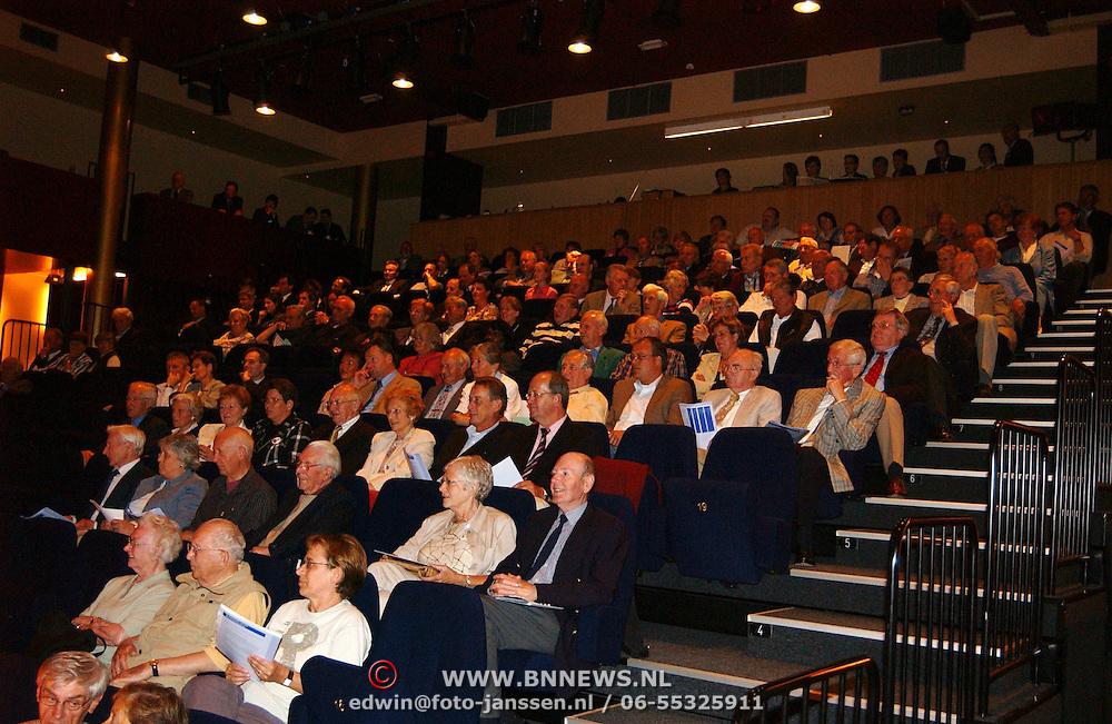 Ledenvergadering Rabobank huizen, leden, publiek