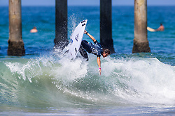 Reef Heazlewood (AUS) advances to Round 4 of the VANS US Open of Surfing after placing second in Heat 1 of Round 3 at Huntington Beach, CA, USA.