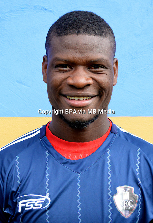 Colombia League - Postobom Liga 2014-2015 -<br /> Fortaleza Futbol Club  - Colombia / <br /> Yamith Cuesta