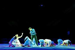 17.01.2011, Frankenstolz-Arena, Aschaffenburg, GER, TUI Feuerwerk der Turnkunst 2011, im Bild Opening - Traumtypen, Henning Kothe, EXPA Pictures © 2011, PhotoCredit: EXPA/ nph/  Roth       ****** out of GER / SWE / CRO ******