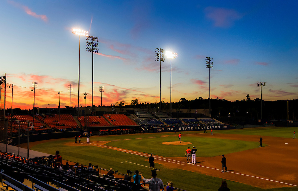 161104 Baseball, NCAA, Cal State Fullerton - Cypress College<br /> A Overview/scene setter over the Goodwin Field during the game.<br /> &copy; Daniel Malmberg/Sports Shooter Academy 13