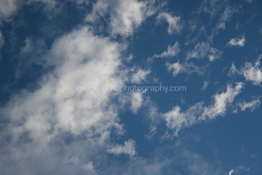 Clouds on a fine day