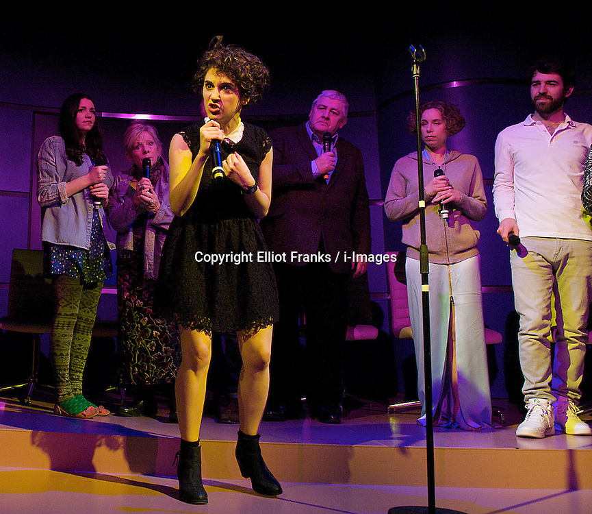 In The Republic of Happiness.by Martin Crimp, The Royal Court Theatre, London, Great Britain, December 11, 2012. Photo by  Elliot Franks / i-Images...