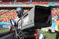 An HD television camera