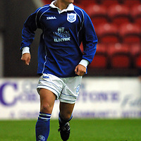 St Johnstone FC 2001/02<br />Ross Forsyth<br /><br />Pic by Graeme Hart<br />Copyright Perthshire Picture Agency<br />Tel: 01738 623350 / 07990 594431