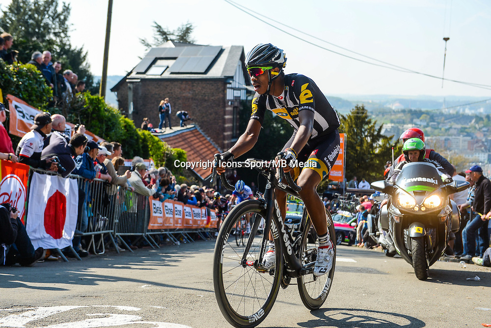 Songezo Jim - Mtn Qhubeka - 22.04.2015 - La Fleche Wallonne<br />