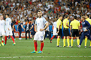 England Midfielder Jack Wilshere looks at the England fans booing after the Round of 16 Euro 2016 match between England and Iceland at Stade de Nice, Nice, France on 27 June 2016. Photo by Andy Walter.