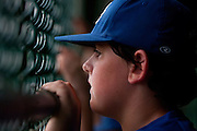 Cherry Hill's John Stankewicz watches his teammate bat during a Section 4 Little League final against Cherry Hill held in Gloucester Sunday night.