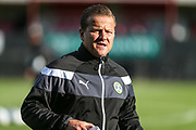 Forest Green Rovers manager, Mark Cooper during the Pre-Season Friendly match between Shortwood United and Forest Green Rovers at Meadowbank Ground, Nailsworth, United Kingdom on 14 July 2017. Photo by Shane Healey.