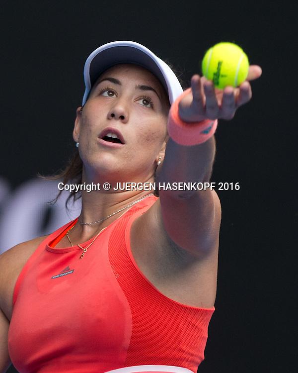 Garbine Muguruza, Australian Open 2016<br /> <br /> Tennis - Australian Open 2016 - Grand Slam ITF / ATP / WTA -  Melbourne Park - Melbourne - Victoria - Australia  - 21 January 2016.