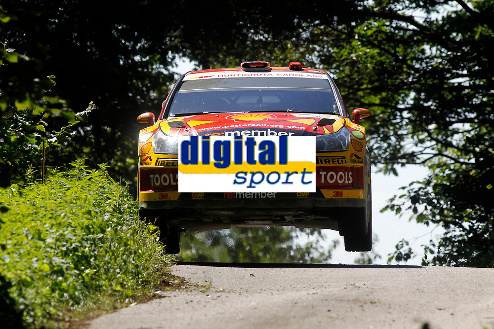 MOTORSPORT - WORLD RALLY CHAMPIONSHIP 2010 - ADAC DEUTSCHLAND RALLYE / RALLYE D'ALLEMAGNE - TRIER (GER) - 19 TO 22/08/2010 - PHOTO : FRANCOIS BAUDIN / DPPI - <br /> Petter SOLBERG (NOR) / Chris PATTERSON (GBR) - PETTER SOLBERG WORLD RALLY TEAM - CITROEN C4 WRC - Action